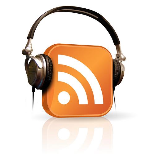 іконка RSS в навушниках